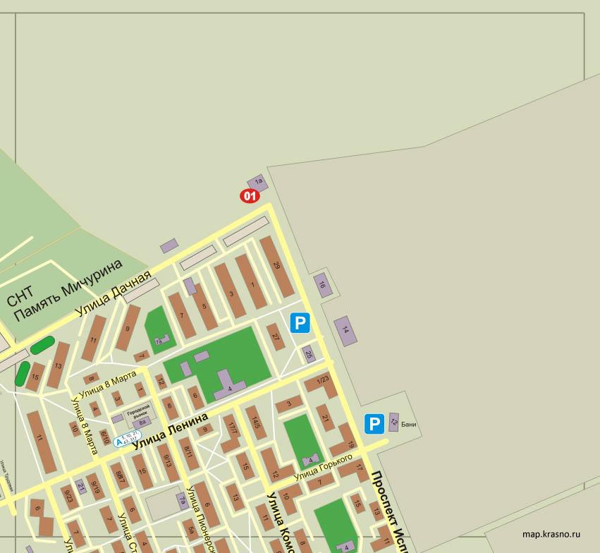 Карта Города Новокуйбышевск С Улицами